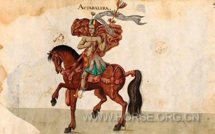 欧洲马背庆典精美手绘