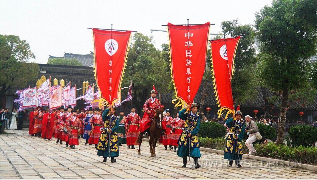 西塘汉服文化周朝代方阵