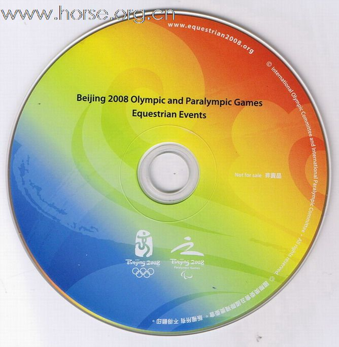 DVD of Beijing 2008 Olympic_Equestrian