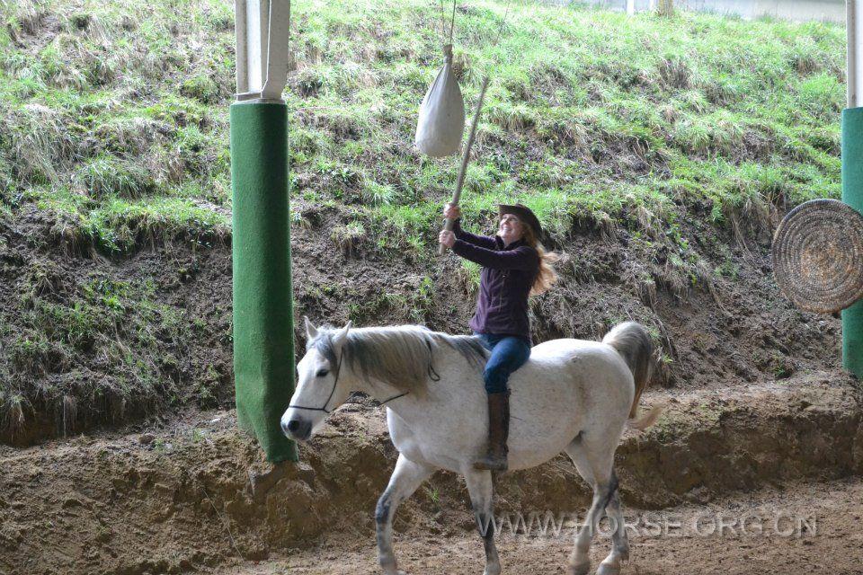 骑射之美女偶像I 骑射 军警仪仗