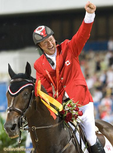 加拿大骑手Eric Lamaze成为世界NO.1