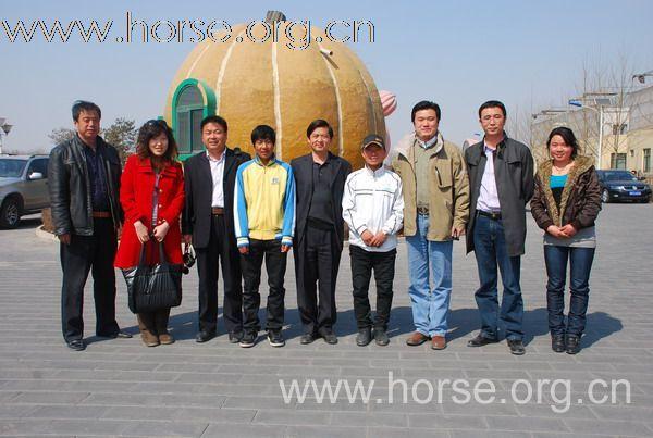 天马故乡昭苏政府领导来京考察马产业
