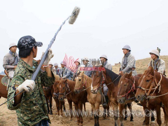 电视剧《中国骑兵》在沂蒙开拍