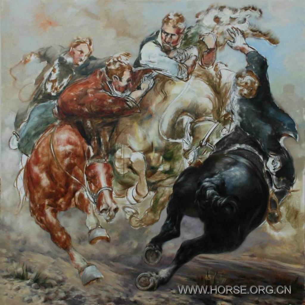漂亮画马的步骤图片