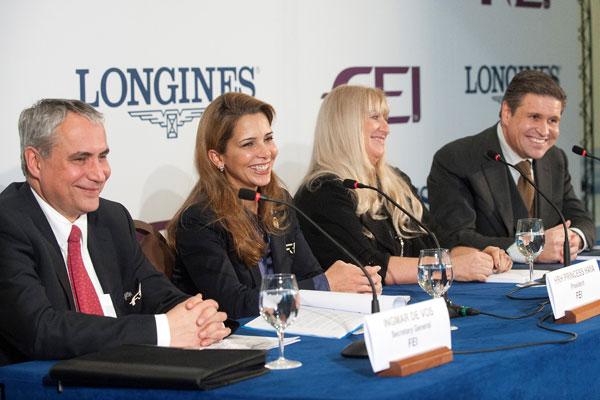 浪琴表与国际马术联合会达成十年合作协议