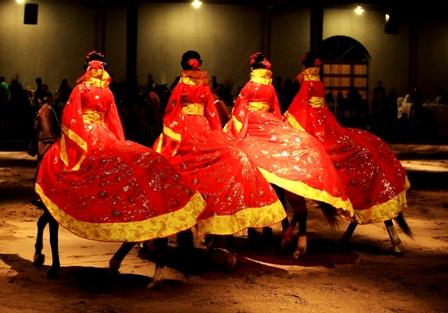 北京马术饕餮盛宴国际演出现场