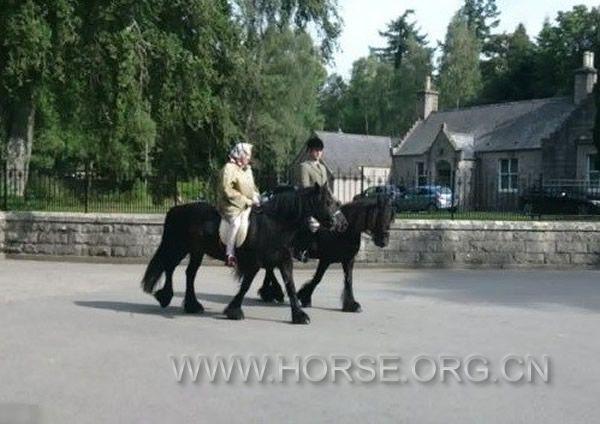 英国:女王90高龄骑马热情不减